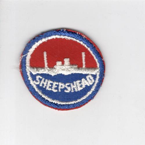 "WW 2 US Navy Sheepshead Bay 2-1/4"" Patch Inv# J419"