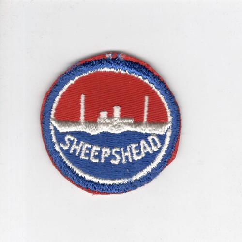 "WW 2 US Navy Sheepshead Bay 2-1/4"" Patch Inv# J425"
