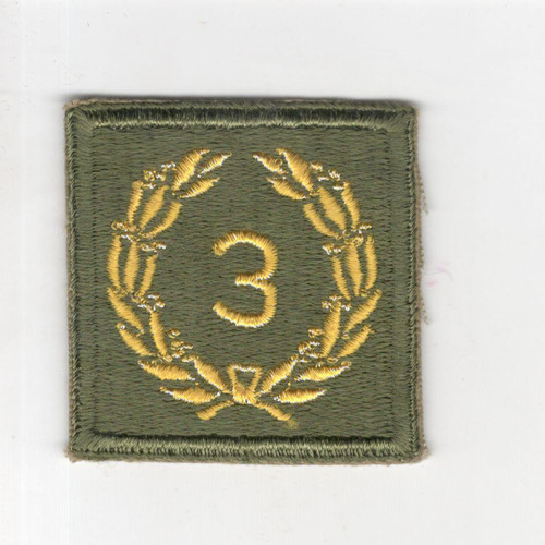WW 2 US Army Meritorious Unit Citation 3rd Award Patch Inv# P666