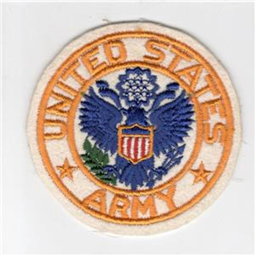 "4"" WW 2 United States Army Jacket PX Wool Patch Inv# H208"