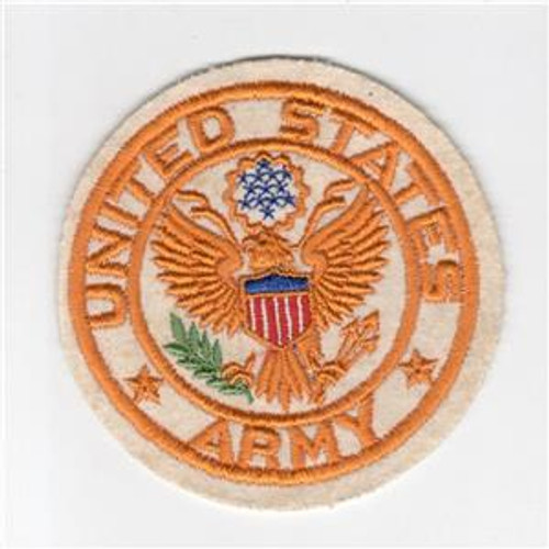 "4"" WW 2 United States Army Jacket PX Wool Patch Inv# H219"