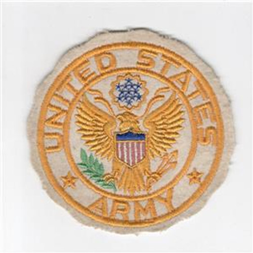 "4"" WW 2 United States Army Jacket PX Wool Patch Inv# H216"