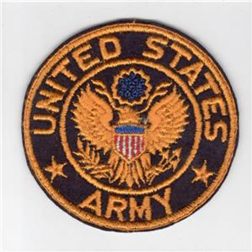 "4"" WW 2 United States Army Jacket PX Wool Patch Inv# H224"