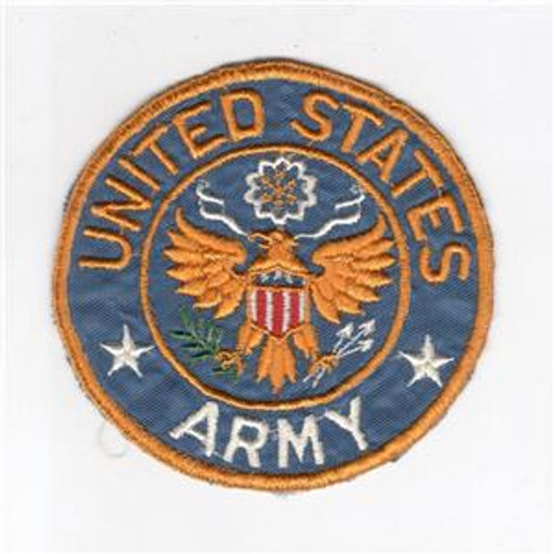 "3-7/8"" WW 2 United States Army Jacket PX Silk Patch Inv# H206"