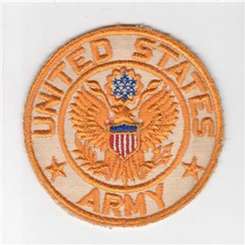 "4"" WW 2 United States Army Jacket PX Twill Patch Inv# H221"
