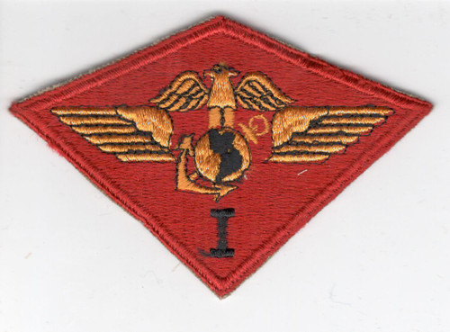 WW 2 USMC Marine 1st Air Wing Patch Inv# X595