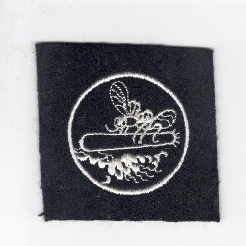"WW 2 US Navy Mosquito / Patrol Boat 3"" Wool Patch Inv# J442"