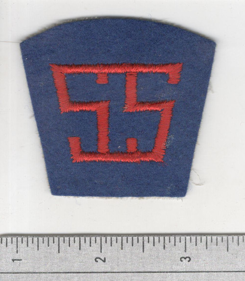 40's made WW 1 AEF Service Of Supply Patch Inv# S937