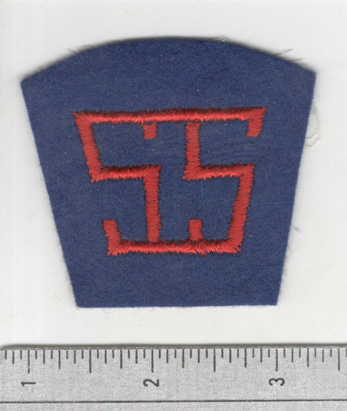 40's made WW 1 AEF Service Of Supply Patch Inv# S938
