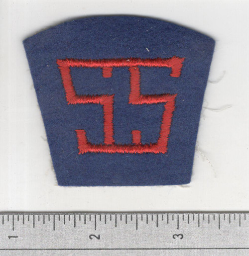 40's made WW 1 AEF Service Of Supply Patch Inv# S940