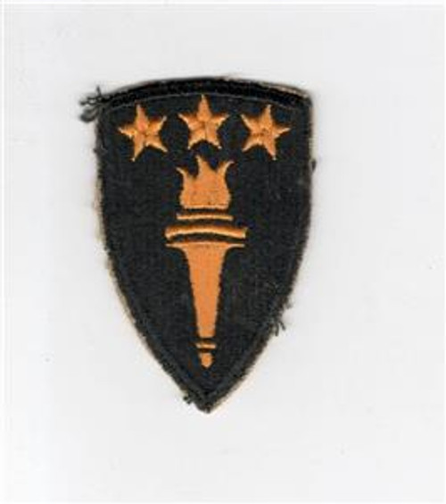 Black Back Cut Edge No Glow US Army War College Patch Inv# H017
