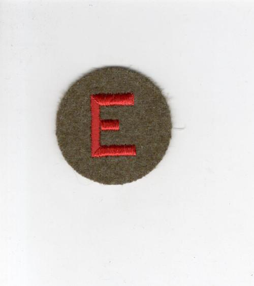 WW 2 US Army Artillery Efficiency Wool Patch Inv# H038