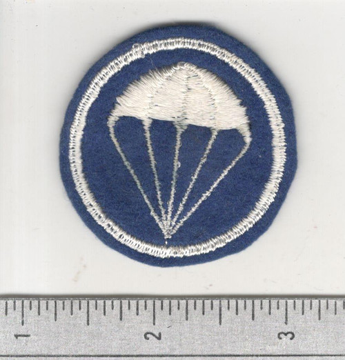 WW 2 US Army Paratroops Overseas Cap Patch Inv# C126