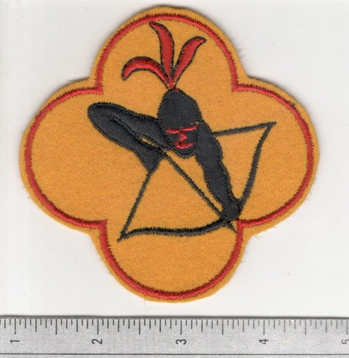 "4"" WW 2 429th Bomb Squadron 2nd Bomb Group 15th Air Force Patch Inv# C142"