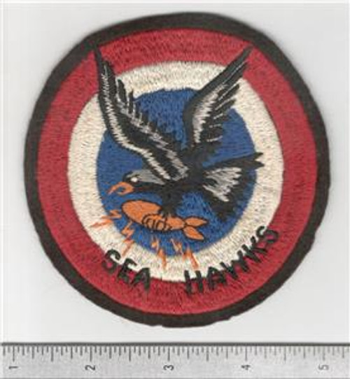 Aussie Made WW 2 US Army Air Force 63rd Bomb Squadron 43rd Bomb Group 5th Air Force Patch Inv# B611