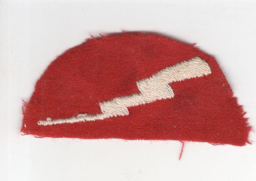 """3-1/8"""" X 1-1/2"""" WW 1 US Army 78th Division Patch Inv# Q453"""