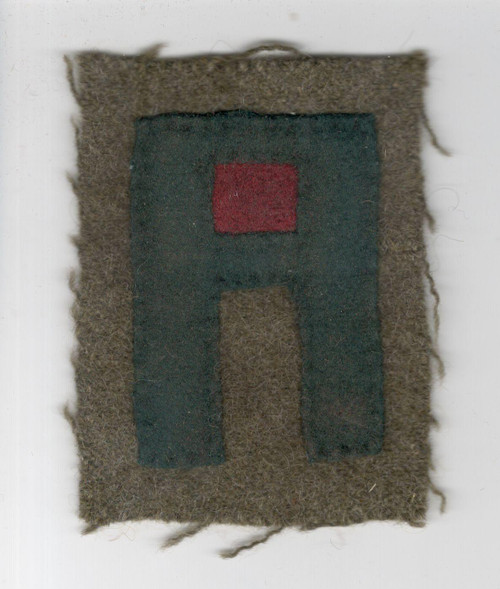 20's - 30's US Army 1st Army Artillery Patch Inv# Q201