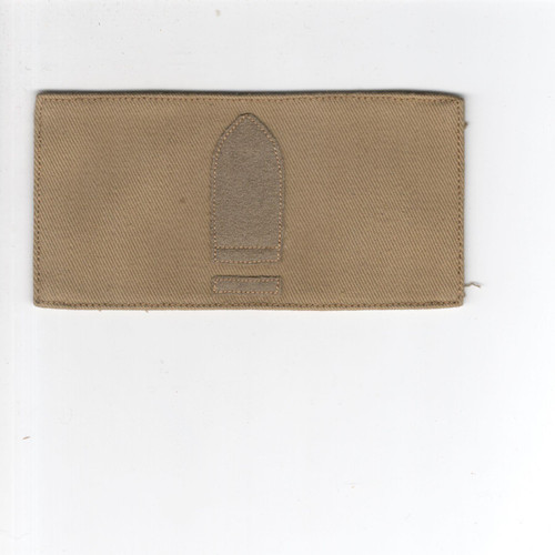 1896 - 1907 US Army Gunner First Class Patch Inv# Q177
