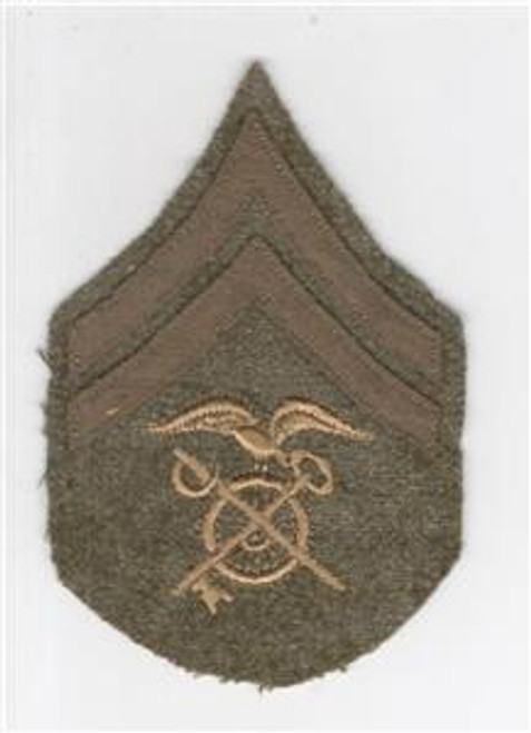 WW 1 US Army Quartermaster Corporal Patch Inv# Q131