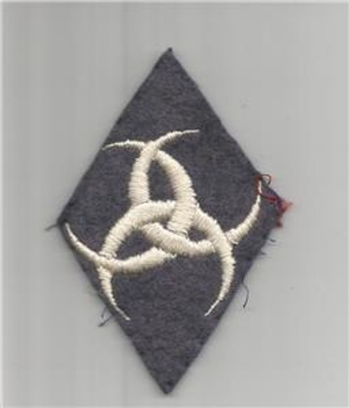 """WW 1 US Army Service Of Supply Quartermaster 2-1/4"""" X 3-1/4"""" Patch Inv# Q263"""
