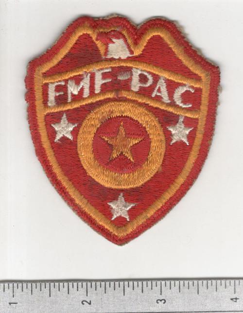 WW 2 USMC FMF-PAC ( Fleet Marine Force Pacific ) Supply Patch Inv# C169