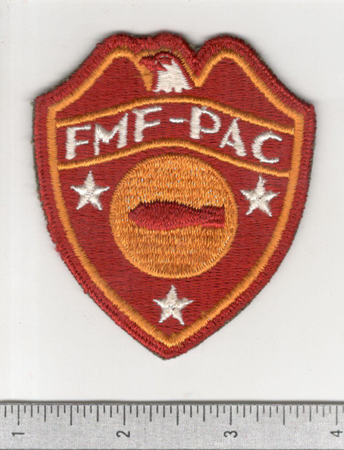 WW 2 USMC FMF-PAC ( Fleet Marine Force Pacific ) Bomb Disposal Patch Inv# C171