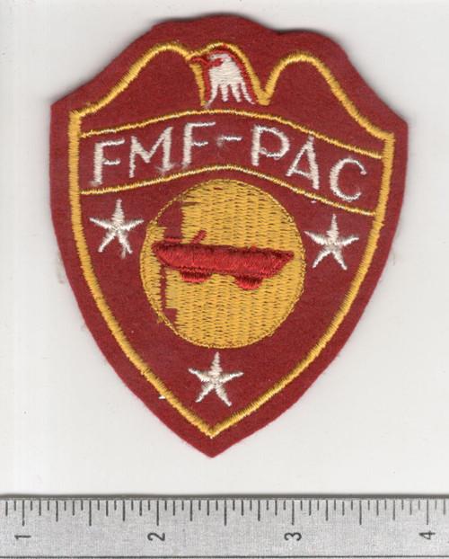 WW 2 USMC FMF-PAC DUKW Company Wool Patch Inv# C173