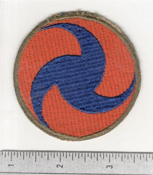 Gemsco WW 2 US Army Air Force General Headquarters OD Border Patch Inv# C261
