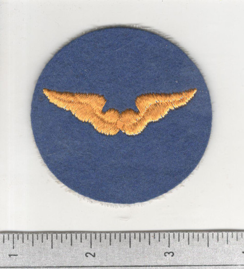 WW 2 US Army Air Force Flight Instructor Wool Patch Inv# C263