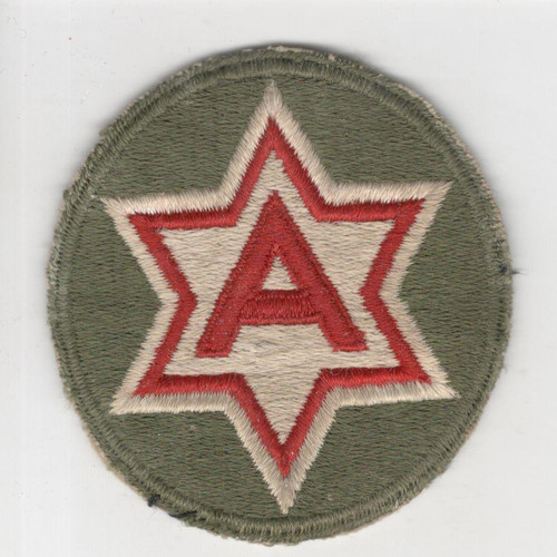 WW 2 US Army 6th Army Patch Inv# R097