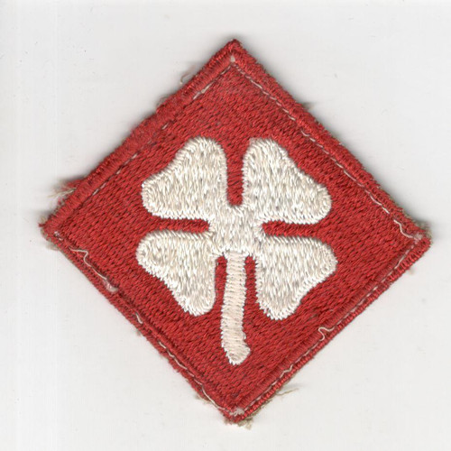 WW 2 US Army 4th Army Patch Inv# R089