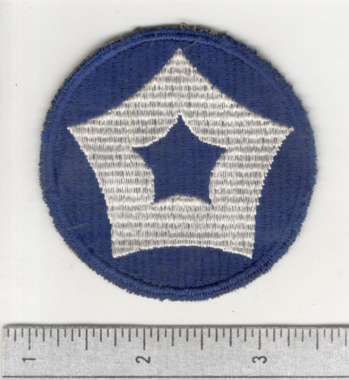 Rare GEMSCO WW 2 US Army 5th Service Command Patch Inv# C367
