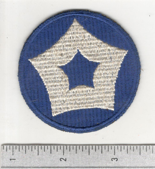 Rare GEMSCO WW 2 US Army 5th Service Command Patch Inv# C368
