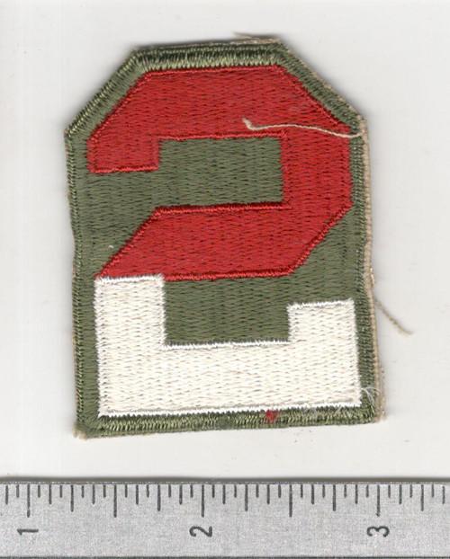WW 2 US Army 2nd Army Patch Inv# B721