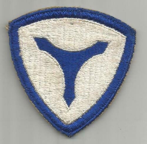 WW 2 US Army 3rd Service Command Patch Inv# H522