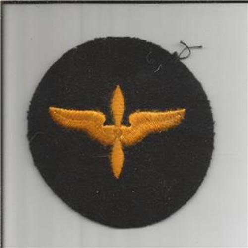 WW 2 US AAF Cadet Advanced Courses Wool Patch Inv# B003