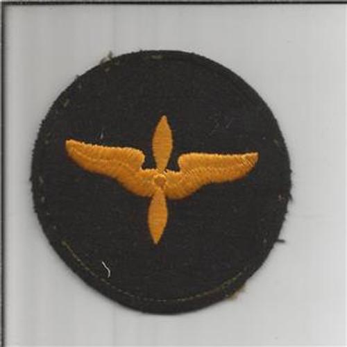 WW 2 US AAF Cadet Advanced Courses Wool Patch Inv# B001
