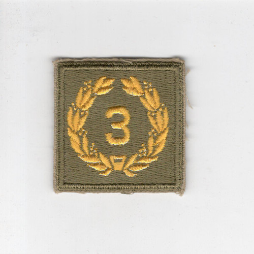 WW 2 US Army Meritorious Unit Citation 3rd Award Patch Inv# H159