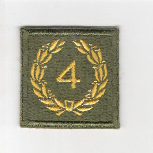 WW 2 US Army Meritorious Unit Citation 4th Award Patch Inv# P667