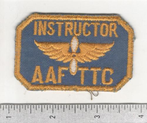 WW 2 US Army Air Instructor AAF TTC Patch Inv# C377