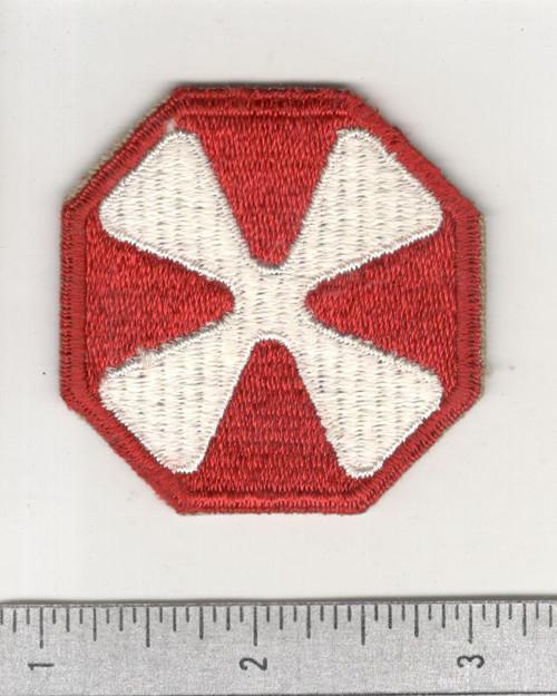 WW 2 US Army 8th Army Patch Inv# C426