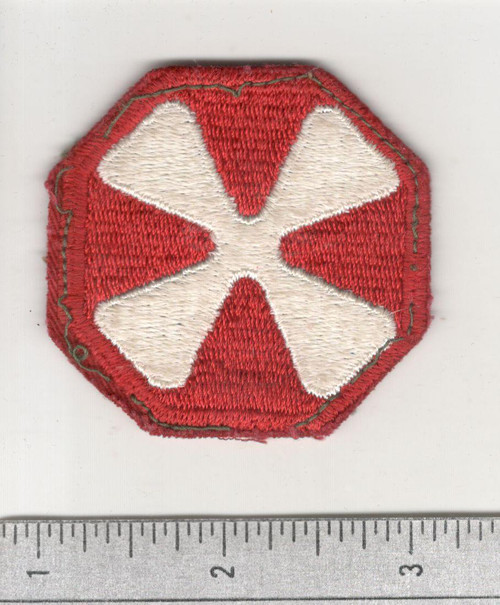 WW 2 US Army 8th Army Patch Inv# C428