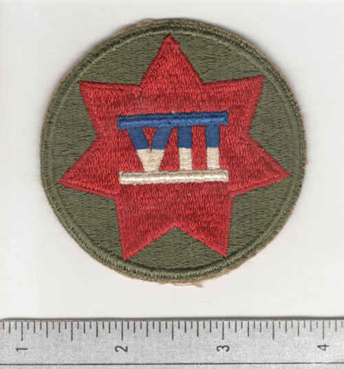 WW 2 US Army 7th Corps Patch Inv# C433