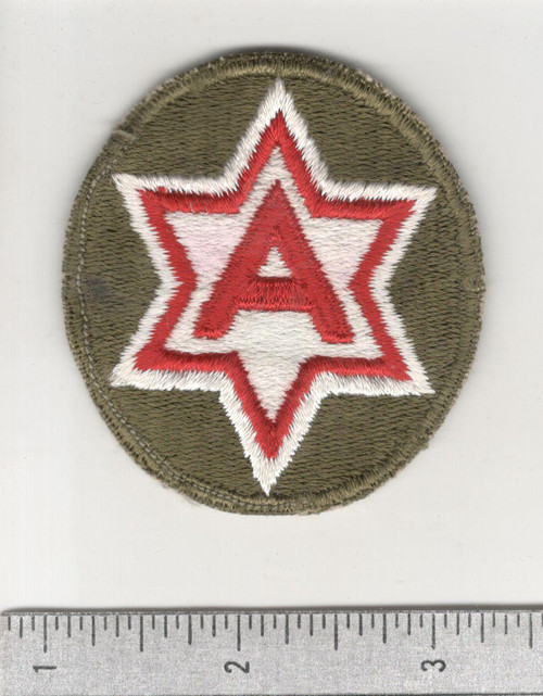 WW 2 US Army 6th Army Patch Inv# C435