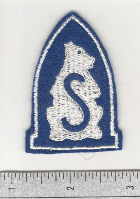 40's Made WW 1 Siberian AEF Wool Patch Inv# C448