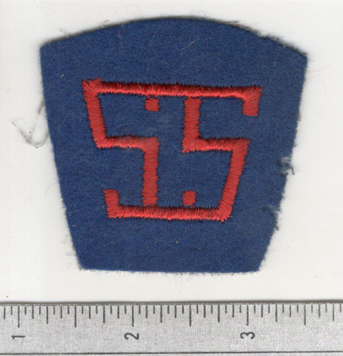 40's made WW 1 AEF Service Of Supply Patch Inv# W591