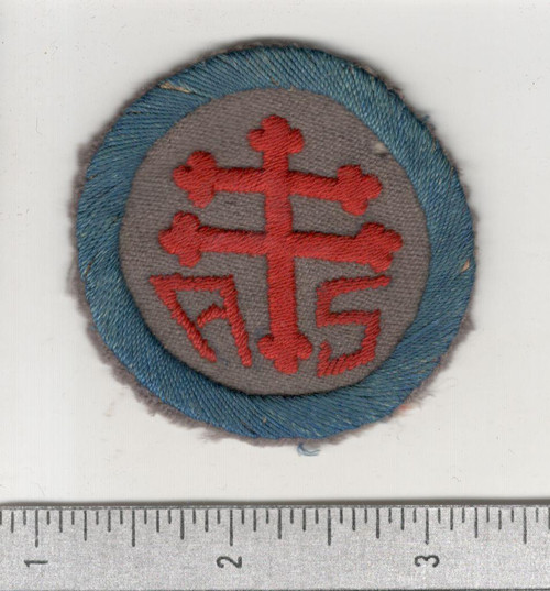 WW 1 US Army Advanced Section Services Of Supply Quartermaster Patch Inv# W611