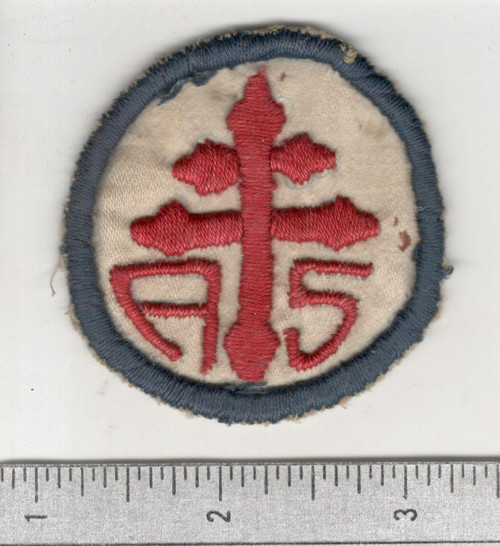WW 1 US Army Advanced Section Services Of Supply Quartermaster Patch Inv# W624