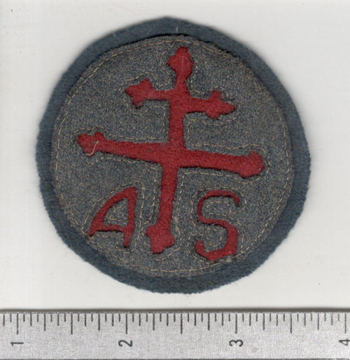 WW 1 US Army Advanced Section Services Of Supply Quartermaster Patch Inv# W634