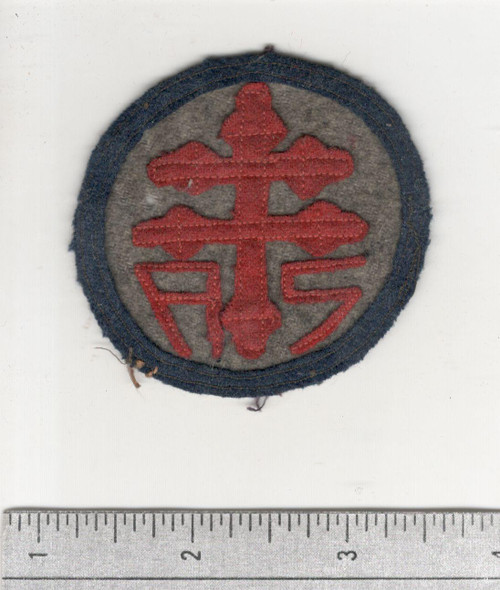 WW 1 US Army Advanced Section Services Of Supply Quartermaster Patch Inv# W636